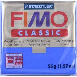 Полимерная глина Fimo Classic, 56г - №33, ультрамарин