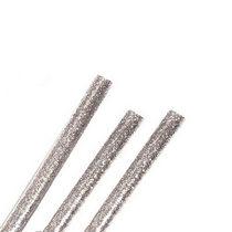 Клей для термоклеевого пистолета с глиттером 7 мм, цвет - серебро, 18см