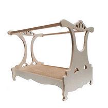 """Кукольная мебель """"Кровать с балдахином"""", 23х35х28 см"""