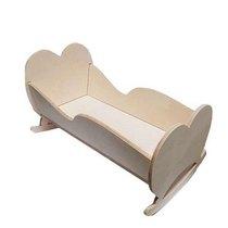 """Кукольная мебель """"Кровать-качалка"""", 45х27х27 см"""