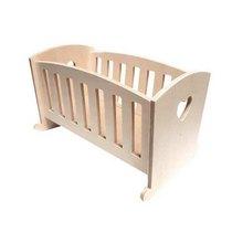 """Кукольная мебель """"Кровать с планочками"""", 32х20х20 см"""