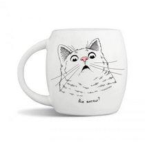 """Чашка """"Удивленный кот"""""""