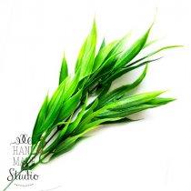 Искусственная зелень Осока болотная крупнолистнаая, салатово-зеленая