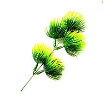 """Искуственная зелень """"Экзотическая веточка"""", желто-зеленая"""