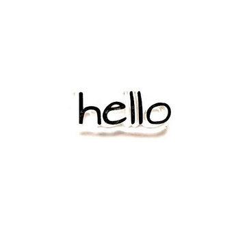 "Силиконовый штамп ""hello"" 2,7х1,1 см"