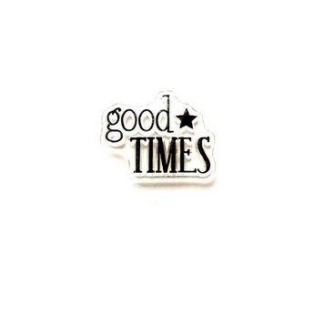 """Силиконовый штамп """"good TIMES"""" 2,7х2 см"""