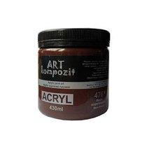 Акриловая краска ART kompozit, 430 мл  №476 Марс коричневый