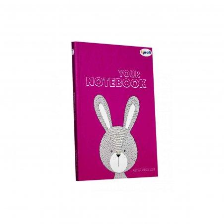 """Блокнот №841 """"Artbook"""" lilac, A5, 128л."""