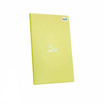 """Блокнот №671 """"Title Note"""" yellow, A5, 128л."""