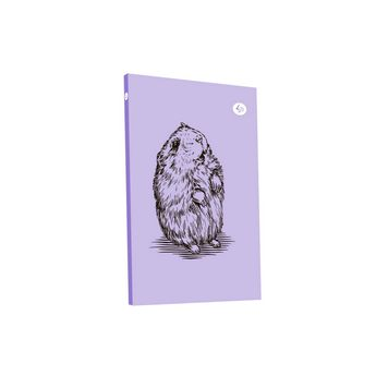 "Блокнот №667 ""Animal note"" violet hamster, B6, 80л."