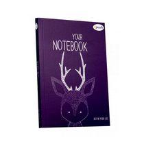 """Блокнот №384 """"Artbook"""" violet, A5, 128л."""