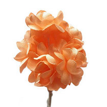 Цветки яблони 2,5 см, цвет светло-персиковый (5 штук)