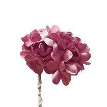 Цветки яблони 2,5 см, цвет светло-розовый (5 штук)
