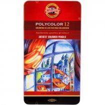 Набор художественных карандашей Polycolor KOH-I-NOOR, 12шт