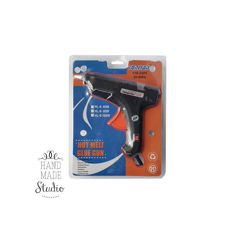 Термоклеевой пистолет большой c кнопкой (11 мм)