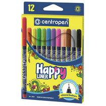 Набор линеров HAPPY Centropen 2521 (12 штук)