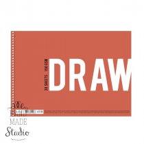 "Альбом для рисования ""DRAWING "" А4, 150г/м2, 30л., MUSE"