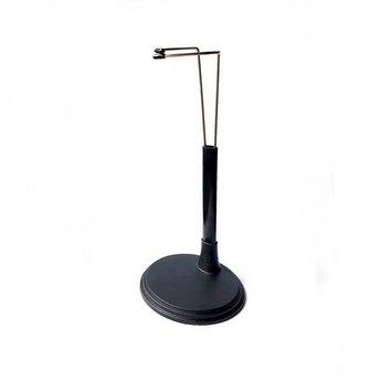 Подставка-держатель для куклы, высота 14 см (черная)