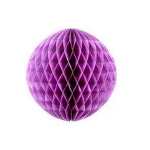 """Бумажный шар """"Соты"""" d 15 см, цвет лиловый"""