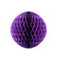 """Бумажный шар """"Соты"""" d 15 см, цвет фиолетовый"""