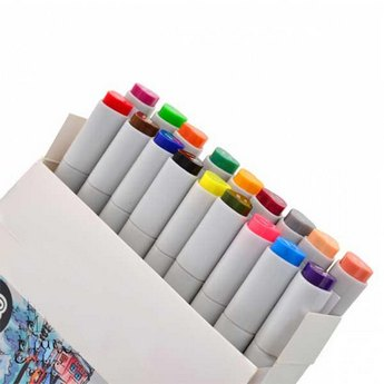 "Набор маркеров ""SANTI-sketch"", 18 цветов"