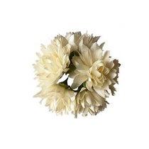 Букетик хризантем 3 см, цвет айвори (5штук)