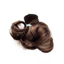 """Искусственные волосы """"Локоны"""" на трессе 15 см, цвет темно-каштановый №8"""