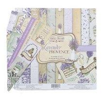 """Набор двусторонней бумаги 30,5х30,5 см """"Lavender PROVENCE"""", 200г/м2, 10шт"""