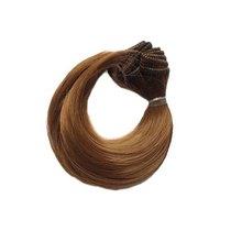 """Искусственные волосы """"Каре подкрученное"""" на трессе 15 см, цвет коричневый №2"""