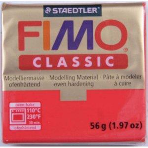 Полимерная глина Fimo Classic, 56г - №21, пурпурный