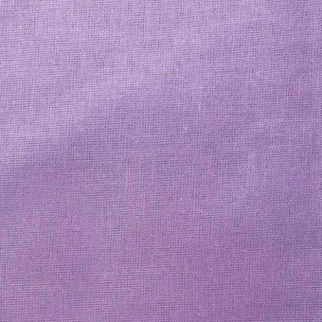 Отрез однотонной польской бязи, цвет фиолетовый, 40х50 см