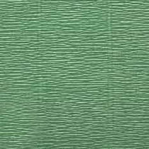 Креп-бумага (гофро-бумага) Италия, плотность - 180г/м², 50смх2,5м, №565 Зеленый горох