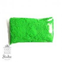 Прыгающая масса для лепки суперлегкая, цвет зеленый 10г