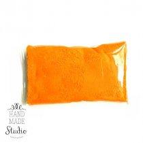 Прыгающая масса для лепки суперлегкая, цвет оранжевый 10г