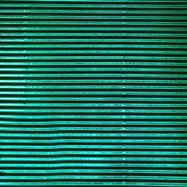 """Гофрокартон """"Металлизированный"""" 230 г/м2 А4, цвет зеленый"""