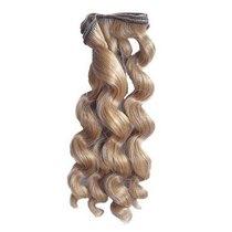 """Искусственные волосы """"Витой локон средний"""" на трессе 15 см, цвет золотисто-русый №3"""