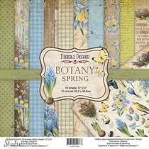 """Набор двусторонней бумаги 30,5х30,5 см """"BOTANY Spring"""", 200г/м2, 10шт"""