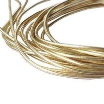 """Канитель """"Мягкая"""" 1 мм, цвет светлое золото 200 см/5 г"""