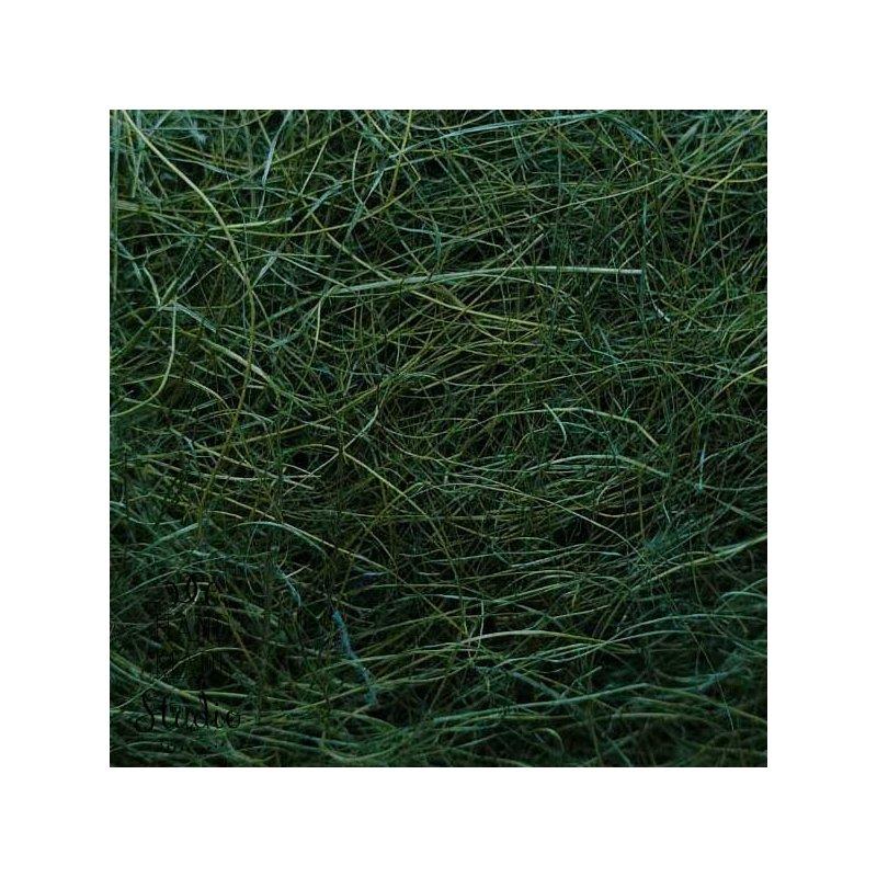 Сизаль, цвет темно-зеленый, 40 г