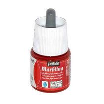 """Жидкая краска для техники Эбру """"Marbling"""" PEBEO №02 Киноварь , 45 мл"""