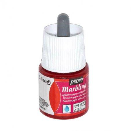 """Жидкая краска для техники Эбру """"Marbling"""" PEBEO №03 Бенгальская роза , 45 мл"""
