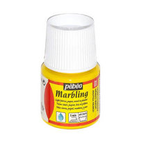 """Жидкая краска для техники Эбру """"Marbling"""" PEBEO №01 Лимонно-желтый, 45 мл"""