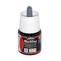 """Жидкая краска для техники Эбру """"Marbling"""" PEBEO №09 Черный, 45 мл"""