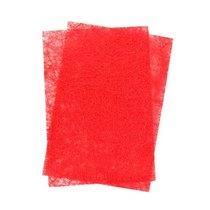 Сизаль листовой 20*30 см, цвет красный, 1 лист