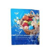 Набор пищевых  красителей для пасхальных яиц, 5 цветов