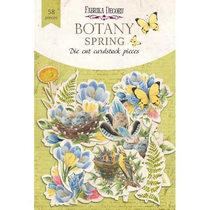 "Набор высечек для скрапбукинга ""BOTANY Spring"" FDSCD-04066, 52 шт"