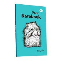 """Блокнот №0247 """"Artbook"""" mint, A5,128л"""
