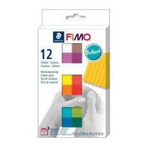 """Набор полимерной глины FIMO """"Brilliant"""", 12 цветов по 25 г 8023 С12-2"""