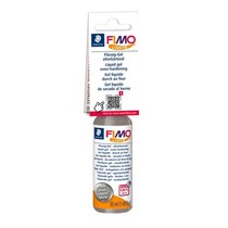 Fimo Liquid - жидкая пластика-гель Серебро, 50 мл 8050-81