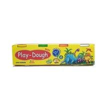 Масса для лепки Play dough Mini в баночках, 4 цвета